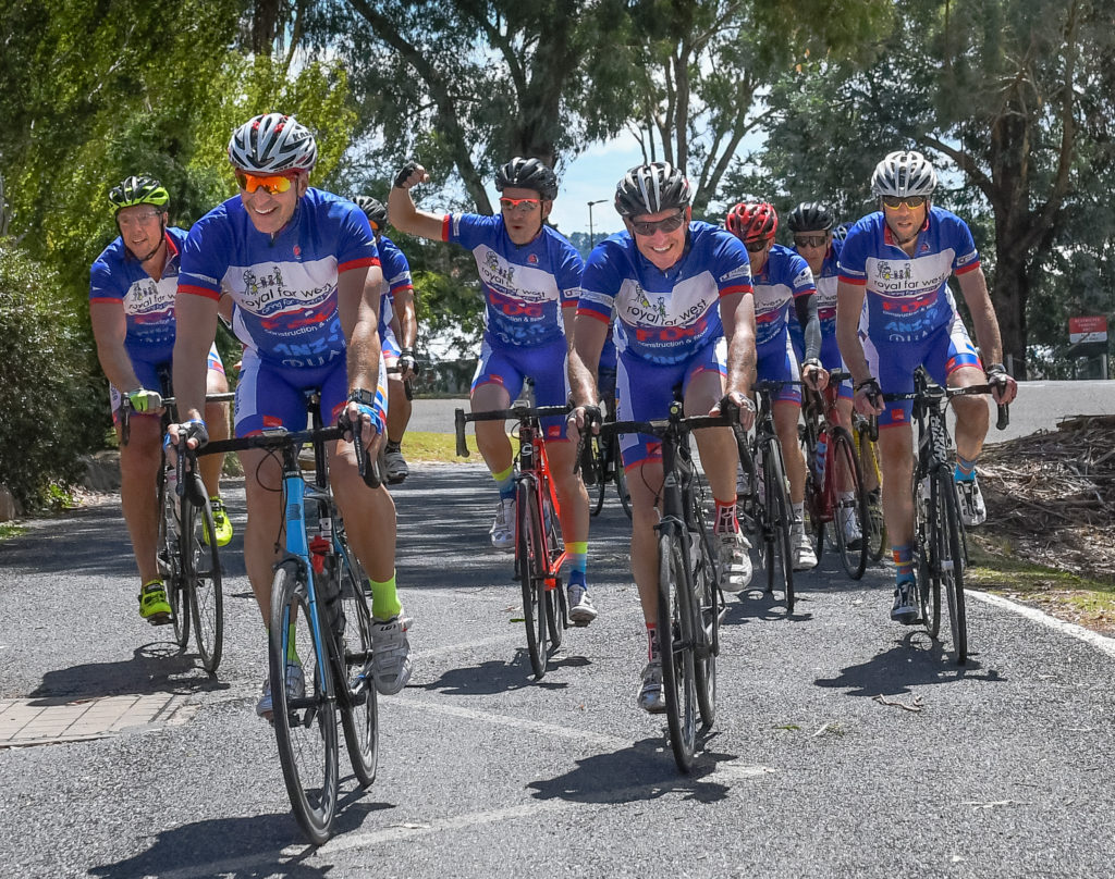 Ride For Life riders finish