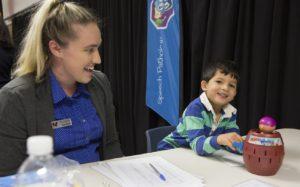 Healthy Kids Bus Stop screening program for children
