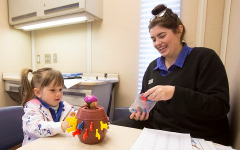 Occupational Therapy at the Healthy Kids Bus Stop